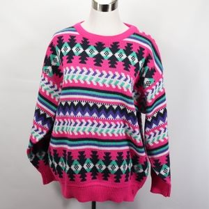 Vintage Womens Medium Kawaii Fairy Kai Sweater